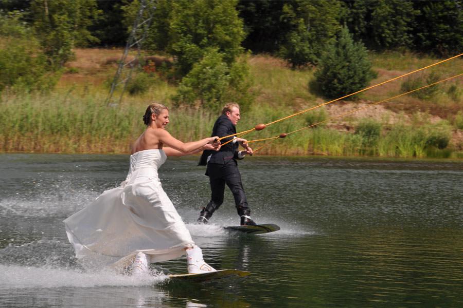 Heiraten auf der Wasserski-Anlage Cable Park Rügen in Zirkow