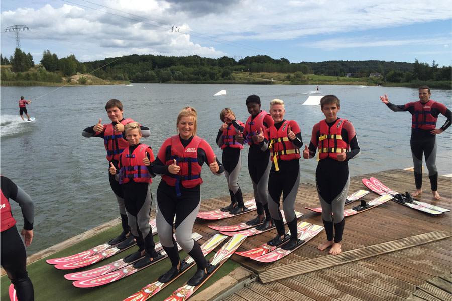 Wasserski-Gruppen-Kurse auf der Insel Rügen beim Cable Park
