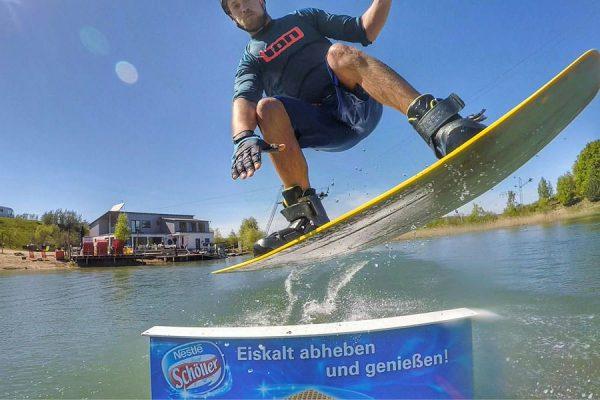 Wasserski-Anlage in Zirkow auf der Insel Rügen