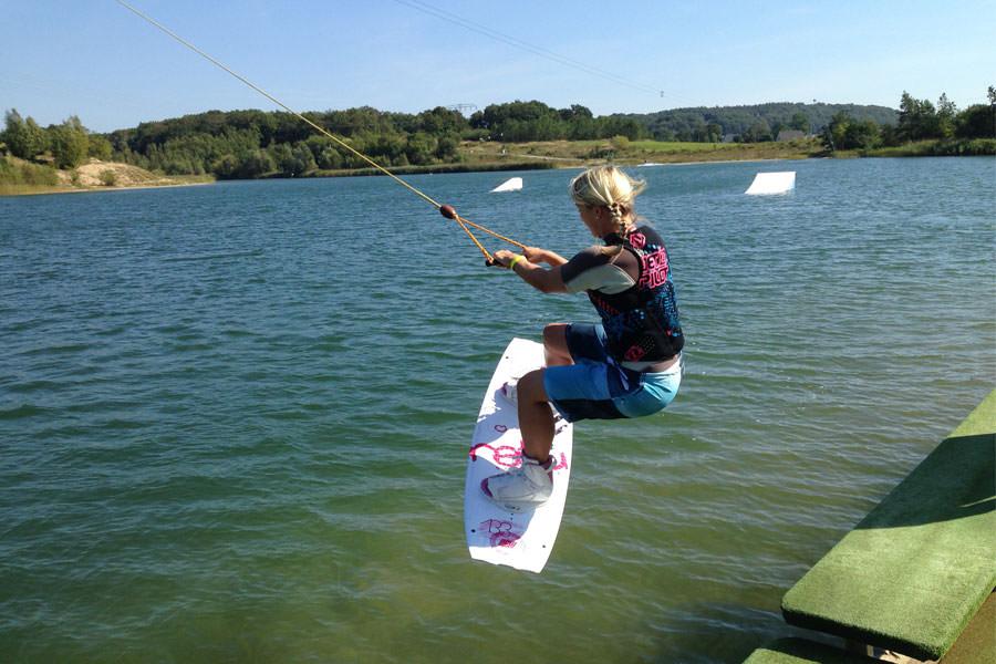 Wakeboarden auf der Insel Rügen bei Cable Park