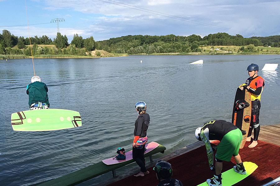 Wakeboard-Anlage von Cable Park Rügen in Zirkow